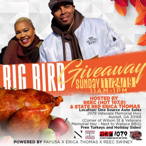 Reec & Erica Give Away Turkeys 11.24