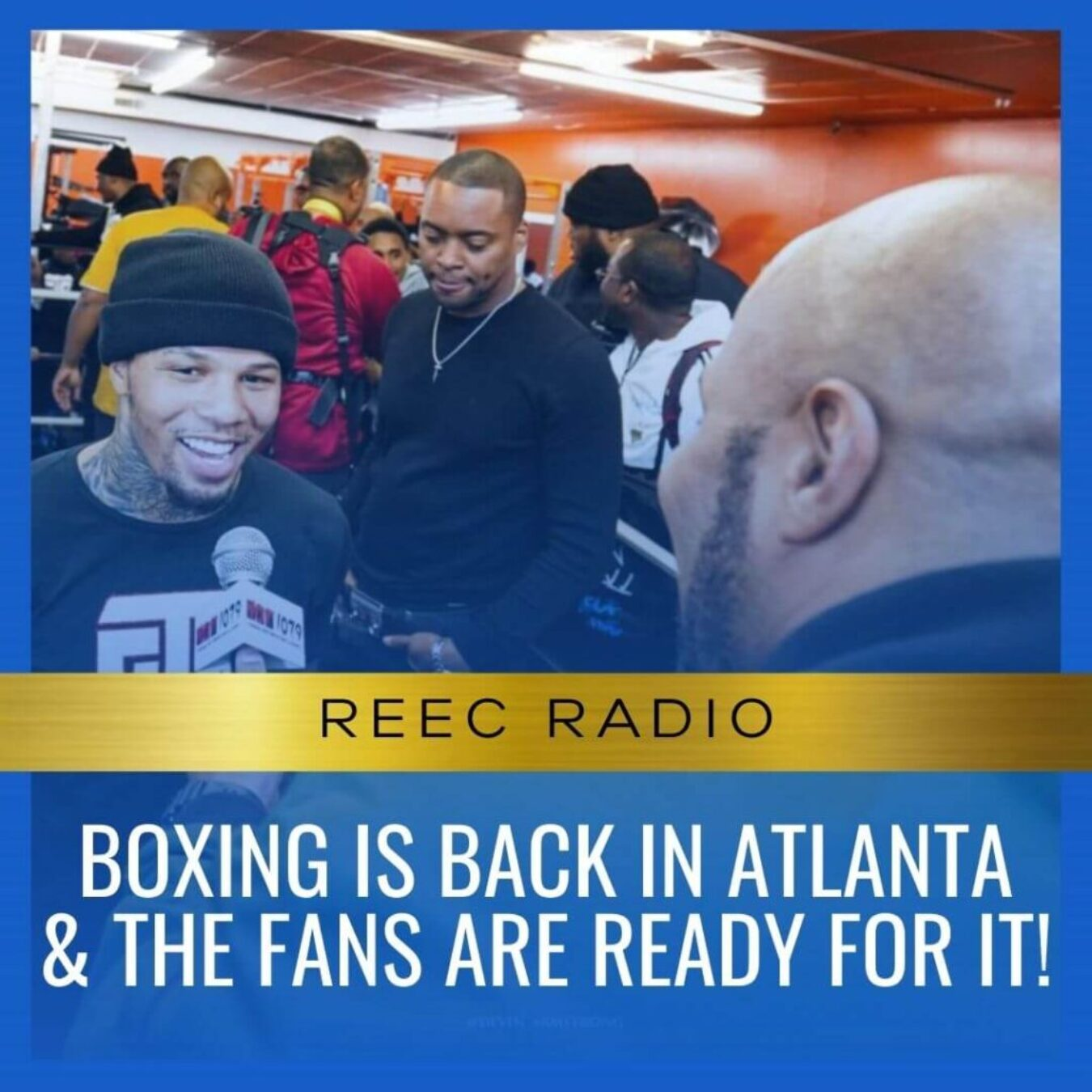 Boxing is back in Atlanta and the fans are ready for it!