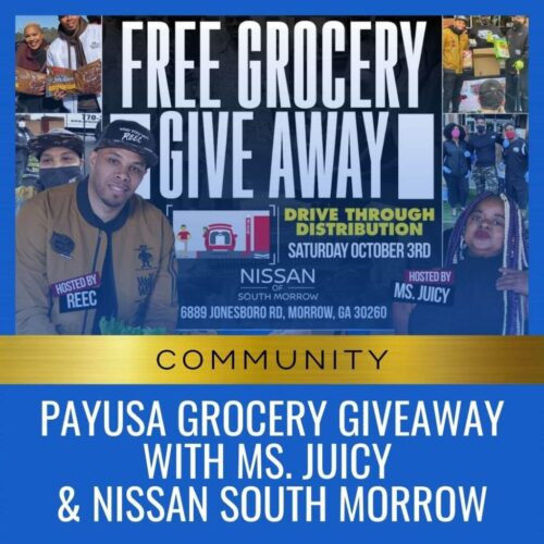 PayUSA Grocery Giveaway with Ms. Juicy & Nissan South Morrow-2