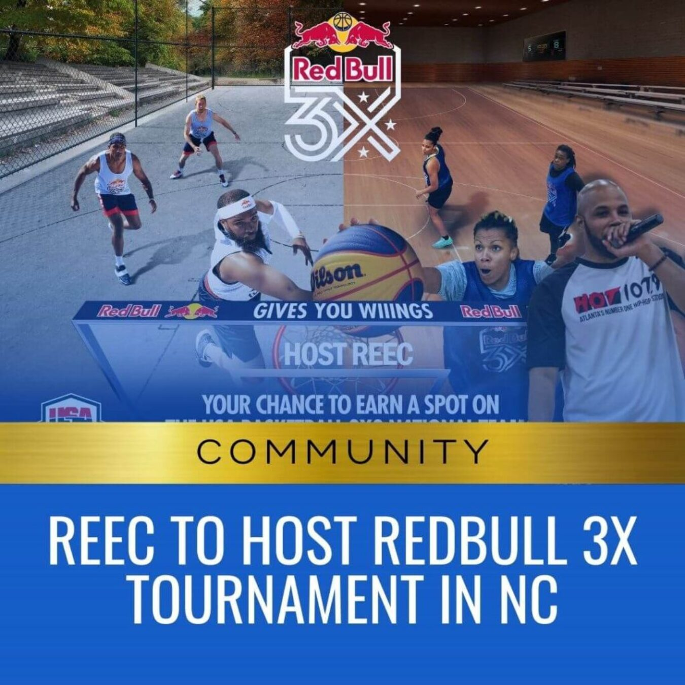 Reec To Host Redbull 3x Tournament in NC